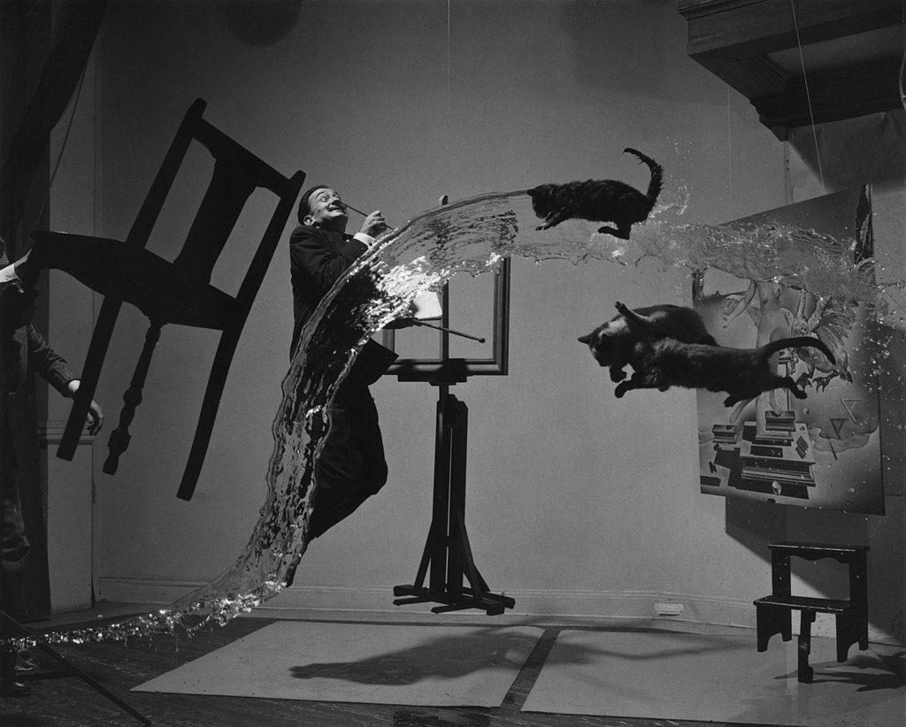 Philippe Halsman - Dalí Atomicus