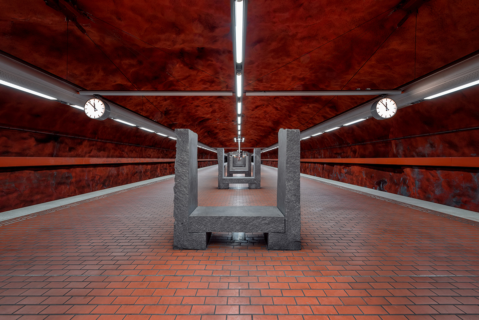 Conor MacNeill - Stockholm Subway