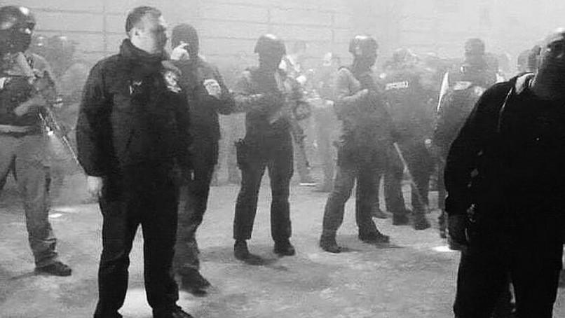 Polizeirazzia im Bassiani